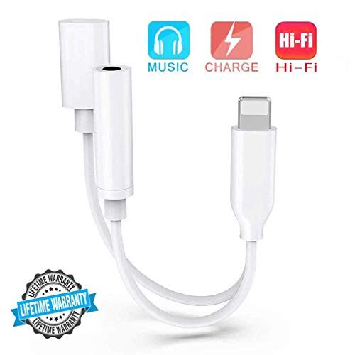 Headphone Adapter for iPhone 8 C...