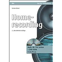 Homerecording (bhv Taschenbuch)