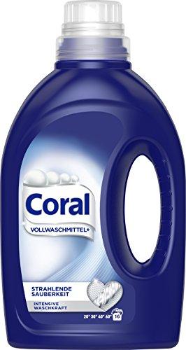 Coral flüssig Vollwaschmittel Strahlende Sauberkeit 16 WL 1er Pack (1 x 16 WL)