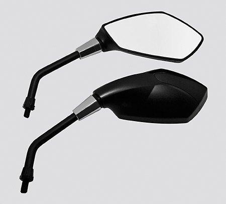 Preisvergleich Produktbild Universalspiegel RAVENNA,  schwarz,  E-gepr.,  Paar