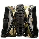 Explosionsgeschützte Brustgurte Große Hundehaustierleine (PATTERN : Army green camouflage, Size : XL)
