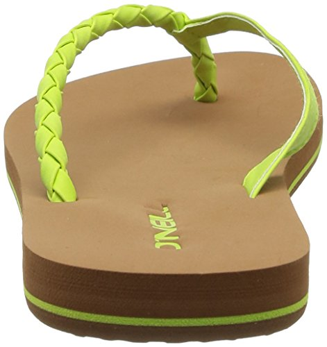 O'Neill Ftw Queen, Tongs femme Jaune (6069 Lime Punch)