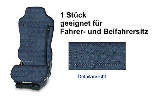 Preisvergleich Produktbild LKW MIXER X-Type Sitzbezug Schonbezug blau für das von Ihnen gewählte Fahrzeug
