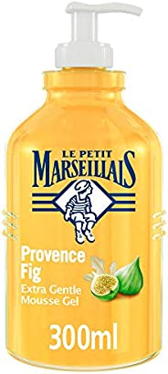 LE PETIT MARSEILLAIS Liquid Soap, Provence Fig, Extra Gentle Hand Mousse Gel, 300ml