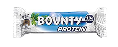 Bounty Protein Bar, 51 g, Pack of 9 (9 Bars) from Mars