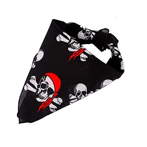 Beyond Dreams® 14 Stück Piraten Bandana für Kindergeburtstag Mitgebsel | Piratenkostüm Piratentuch für Damen Kinder | Kopftuch für Herren Piratenparty | Piratenkopftuch als Give Aways -