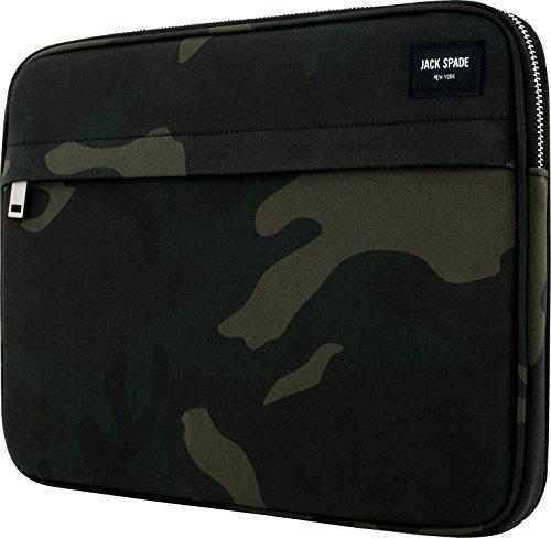 Jack Spade New York Zip Sleeve für Microsoft Surface Book - von Microsoft zertifiziert (camouflage) [Nylon | Außentasche | Gepolstert] - JSSP-004-CWTWL -