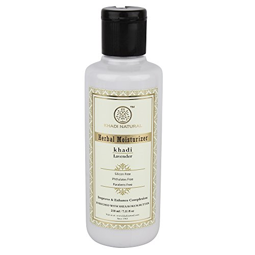Kräuter Lavendel Fairness Lotion SLS Free (210 ml) - von Khadi Organic Natural -