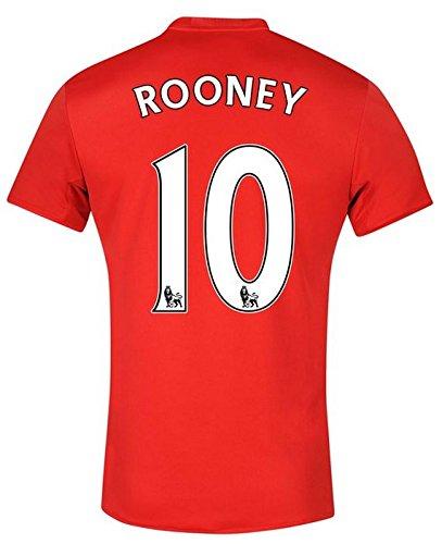 adidas Herren Trikot Manchester United Home Jersey (Rooney 10, 152)