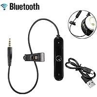 Adaptador inalámbrico Profesional Bluetooth V4.1 Adecuado para Auriculares Bose OE2 (Color: Negro