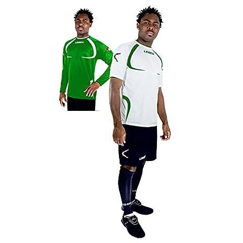 Legea kit Tapei Herren Jungen Fußball 2 Trikots t-Shirt 1