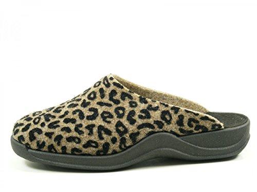 RohdeVaasa D - Pantofole Donna Braun