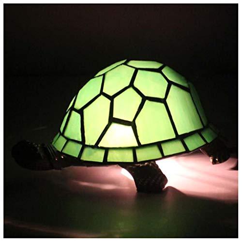 MISS YOU Lampada da tavolo europea retrò a tartaruga verde - bar/casa dei libri/vetrate ristorante