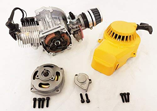 Complete motor of 2 49 times cc single cylinder for Minimoto / Mini Quad