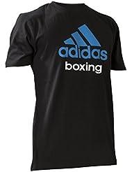 adidas T-Shirt Community Boxing, noir/bleu solaire