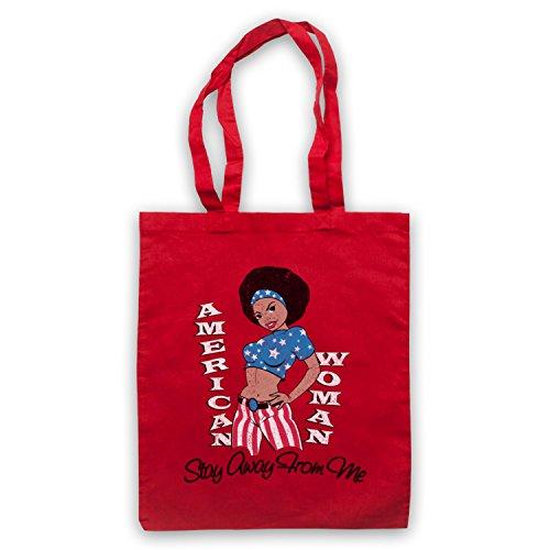 Inspiriert durch Guess Who American Woman Inoffiziell Umhangetaschen Rot