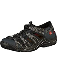 Rieker Damen L0577-12 Sneaker