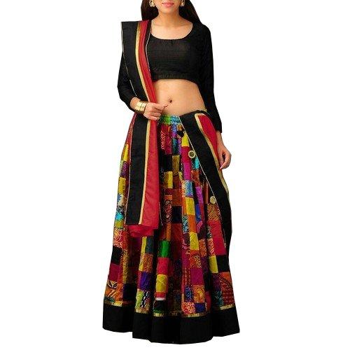 Party Wear Lehengas choli ( printed Work And Women Latest Designer Wear...