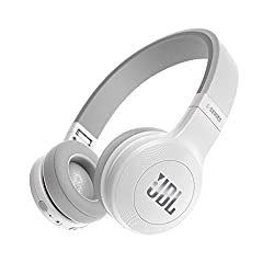 JBL E45BT Wireless On-Ear Headphones (White)