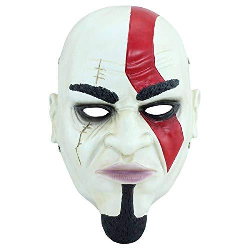 Xiao-masken Neuheit Lustige Clown Maske Hip-Hop Kopf Horror Narr Hut Halloween Karneval Requisiten Cosplay Kostüm Maske Gothic Steampunk Retro Rock Leder (Lustige Halloween-traditionen Familie, Die)