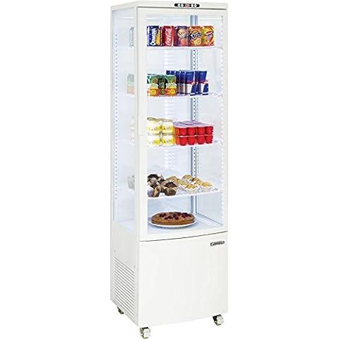 Vetrina refrigerata professionale Casselin CVR235LB verticale 235 Litri Freddo ventilato