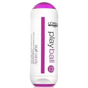 L'Oreal Professionnel - Fluide pour Cheveux - Anti-Frisottis pour des Boucles Parfaites - Playtubes Curl Candy - 150ml