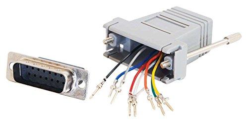 Cables To Go C2G Kabel/RJ45/DB15 m MOD Adptr Grey (Kabel Db15 M/m)