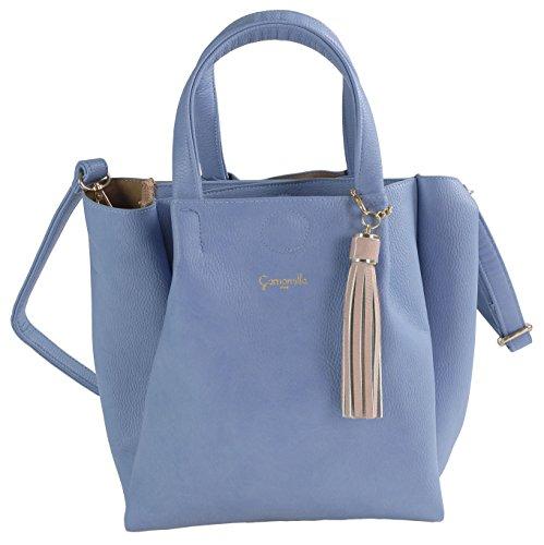 Camomilla Milano , Sac pour femme à porter à l'épaule Bleu bleu ciel M