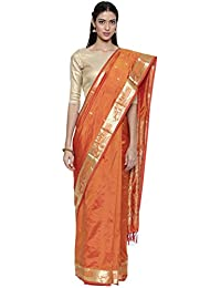 The Chennai Silks silk with blouse piece Saree (CCMYSS8862_ Yellow_ Free Size)