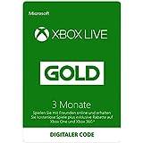 Xbox Live - Gold-Mitgliedschaft 3 Monate [Xbox Live Online Code]