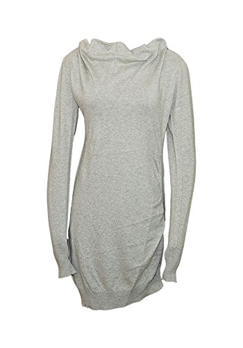 Bench Damen Strickkleid, Mid Grey Marl, XL