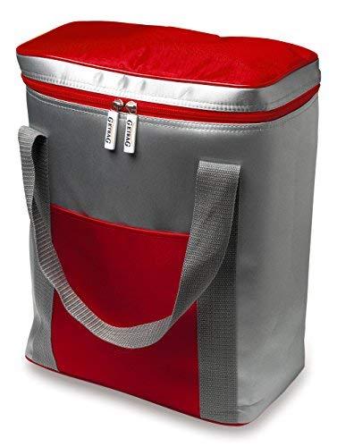 Bolsa nevera–Top Oferta a corto plazo–6x Botellas de 1, 5litros capacidad, rojo