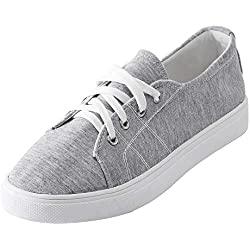 Damen Schuhe,TWBB Mode Canvas Freizeit Schnüren Leichtgewicht Schuhe Luftkissen Casual Schuhe Outdoor Freizeitschuhe