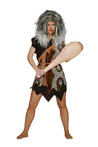 Damen Kostüm Neandertaler Höhlenmensch Karneval Fasching Gr.48