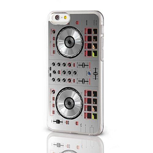 Collezione di cover per la gamma iPhone, gadget retro, 11motivi nostalgici tra cui scegliere Cover posteriore rigida per i modelli iPhone, da iCaseDesigner., PLASTICA, 7. Black DJ Decks, iPhone 6 6. Silver DJ Decks