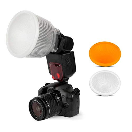 SHOOT Diffusore Lambency Filtri per Flash per Canon 580EX II 430EX 420EX 550EX 580EX Nikon SB600 e SB800 600EX SB700 SB900 SB910 Sony HVL-F42AM HVL-F43AM e altra fotocamera digitale simile