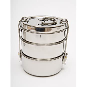 Indian Tiffin Lunchbox - Klassische indische Tiffin-Box
