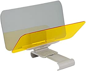 EDTara Car Windshield Visor Night Anti-Glare Universal Sunshade and Night Vision Windshield Driving Visor