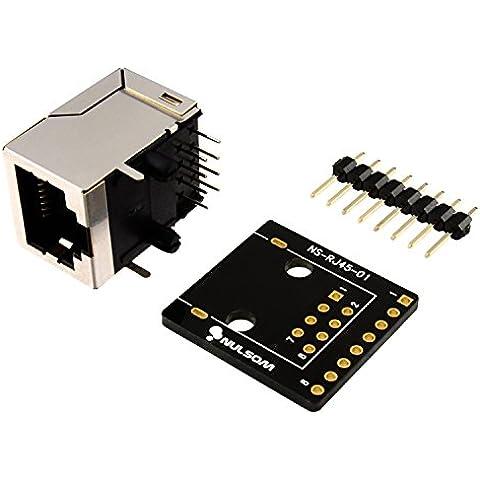 (8-poli RJ45 8P8C Ethernet) e Kit per DMX 512 RS-485-422 RS (Unassambled RS-232)
