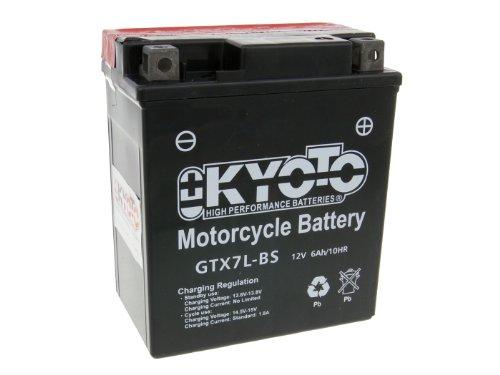 Batteria Kyoto 12V gtx7l BS MF esente da manutenzione per Honda CB 600F Hornet dal 2004–con batteria da 7,50EUR pfand