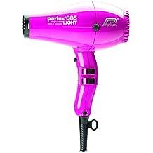 Parlux PowerLight 385 - Secador de pelo, color rosa
