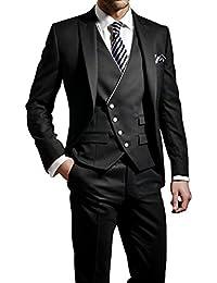 GEORGE Herren trajes de etiqueta smoking del juego de la chaqueta de los trajes de 3 piezas chaqueta de traje conjunto, pantalones de vestir, chaleco 114