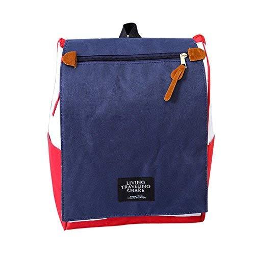 Amayay Daypacks Mini Rucksack Frauen Travel Plaid Leinwand Mini Rucksack Mädchen Einfacher Stil Jungen Teenager Handy Anti Diebstahl Wasserdicht (Color : F, Size : One Size)