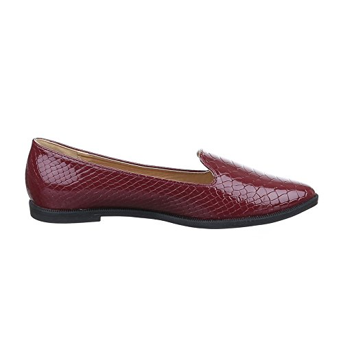 Rosso Pantofole Donna Ital design Dintérieur XxqAqt8