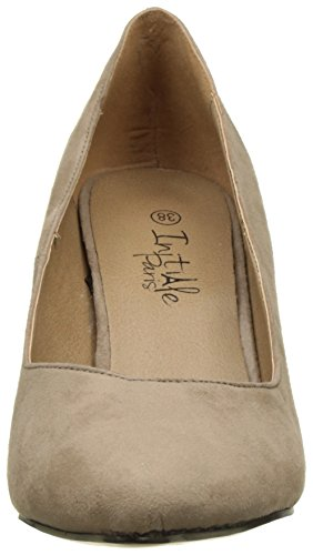Initiale Damen Harrow Pumps Beige (Taupe)