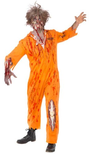 Zombie - Gefangenen - Kostüm für Herren - M