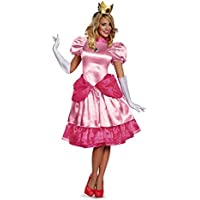 Disfraz Princesa Peach mujer - L