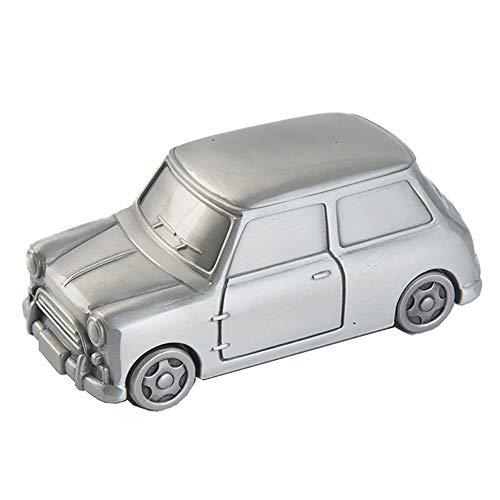 ZHZX Handgemachte Münze Bank, Auto geformt Exquisite Antifade Metall Sparschwein für Kinderzimmer, Wohnzimmer, Geburtstagsgeschenk und etc. -