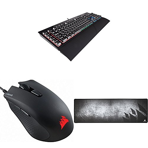 Corsair K55 RGB - Teclado Gaming + Corsair HARPOON