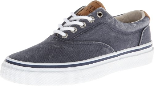 Sperry Striper Laceless, Chaussons Sneaker Adulte Mixte Bleu (navy)